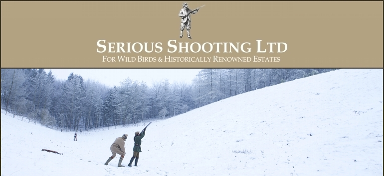 Serious Shooting Ltd - For Wild Birds & Historically Renowned Estates